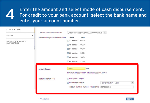Citi Speed Cash Get the cash you need, quick & easy - Citibank