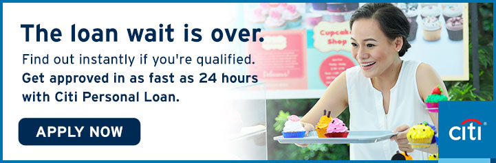 Personal Loans For your financial needs - Citibank Philippines